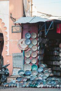 décoration berbère au Maroc